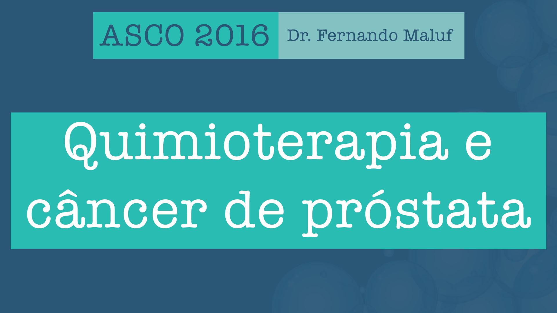 quimioterapia intermitente próstata