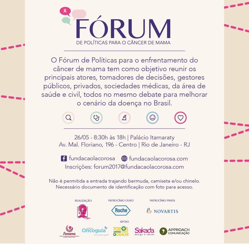 evento forum politicas laco rosa