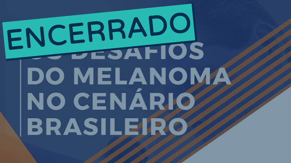 Thumbnail do evento Desafios do Melanoma 2018 encerrado.