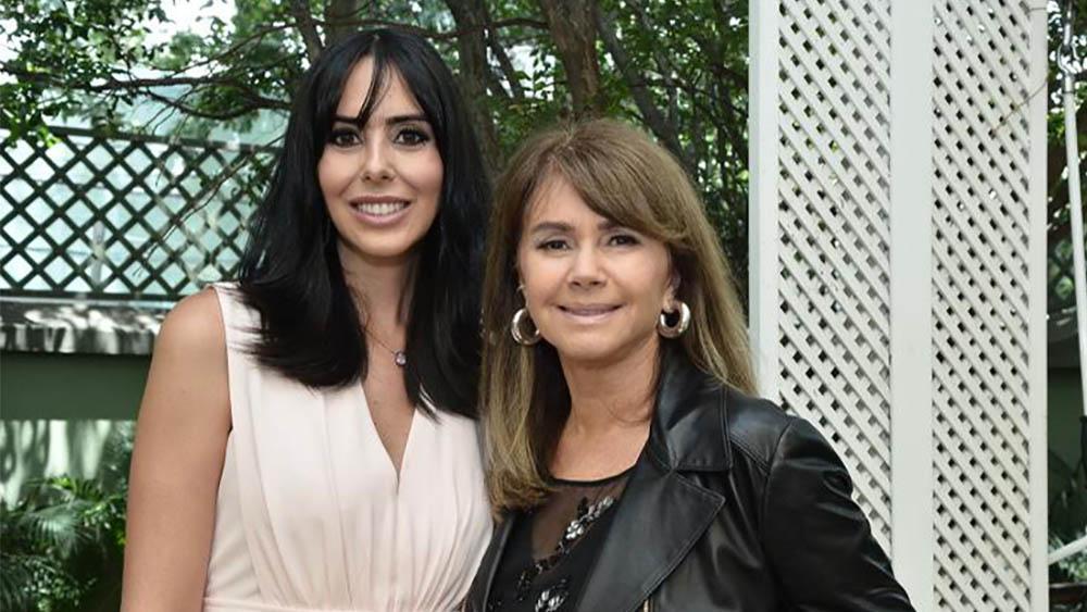 Suzana Gullo e Tânia Bulhões.