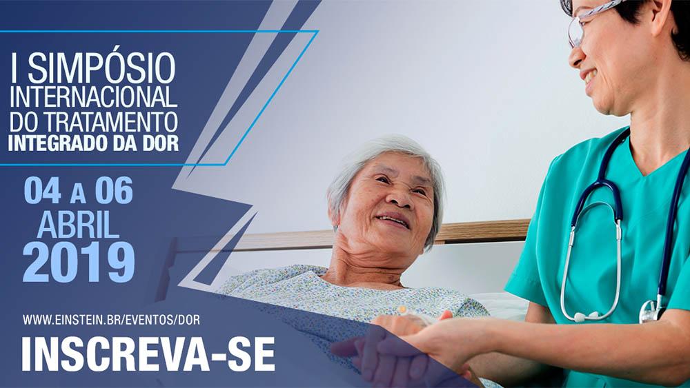 Thumbnail de divulgaçnao do evento I Simpósio de Tratamento Integrado da Dor.