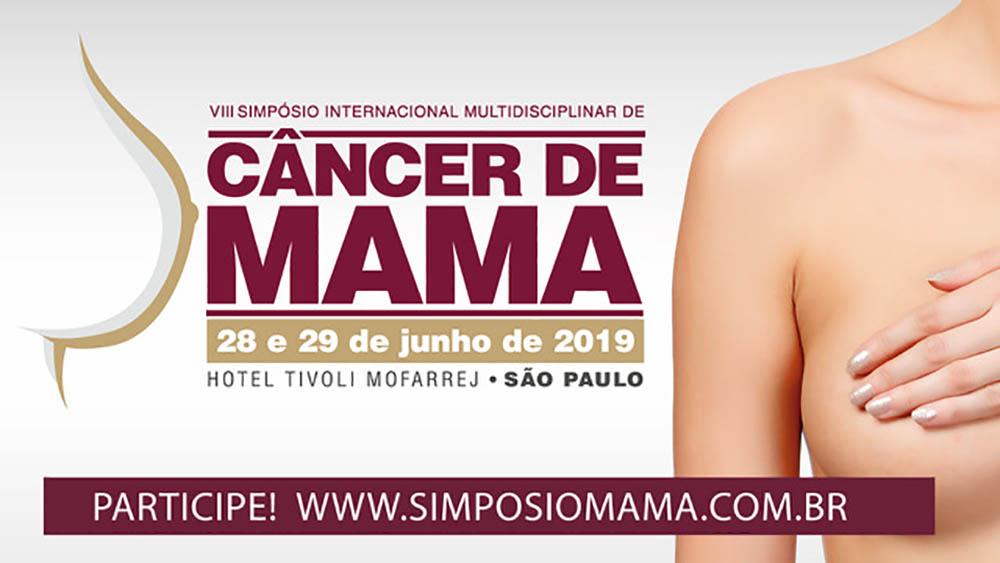 Thumbnail do VIII simpósio internacional de câncer de mama.