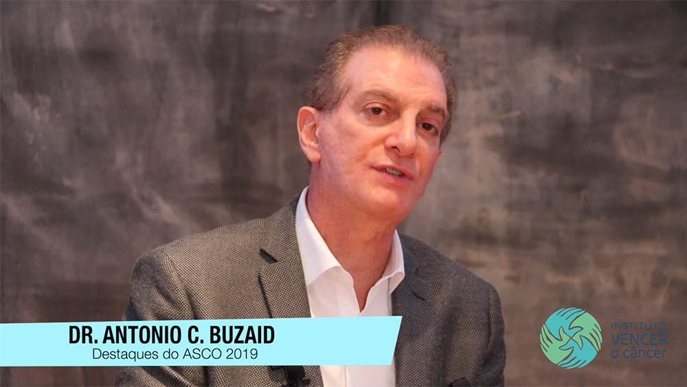 Dr. Antonio Buzaid na Asco 2019.