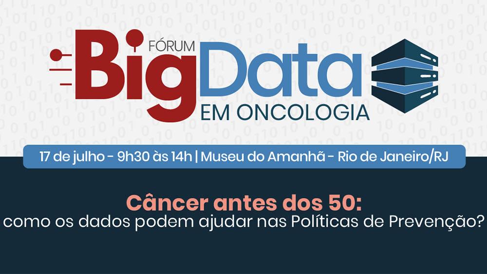 Banner do evento Fórum Big Data 2019.