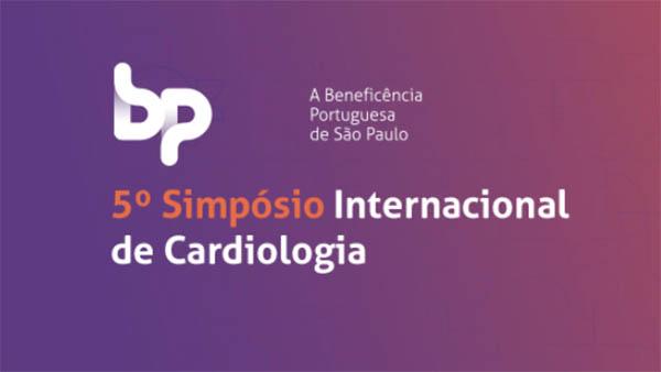 Banner do 5o simpósio internacional de cardiologia da BP.